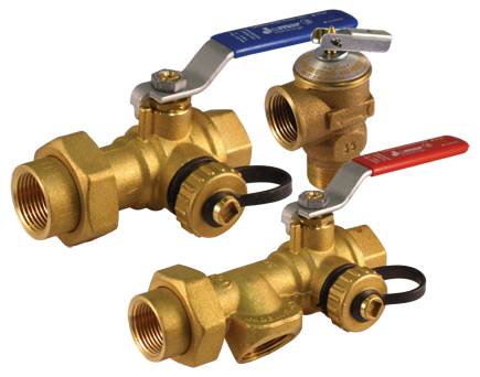 "3/4"" Tankless Water Heater Valve Kits by Jomar"